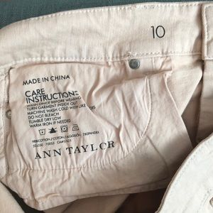Ann Taylor Jeans - Champagne colored Ann Taylor Jeans